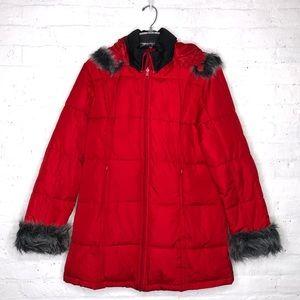 ⭐️Final Sale⭐️ W.S Duck Red Winter Jacket Size M